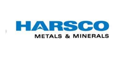 Logotipo com o texto Harsco Metals & Minerals